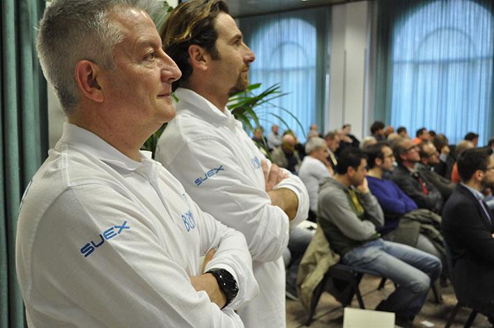 Alberto Petronio e Alessandro Vici